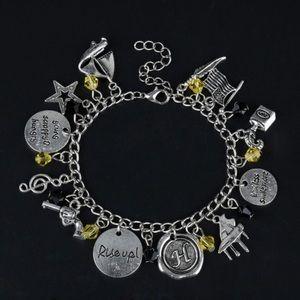 ⭐️2/$25 Hamilton Charm Bracelet